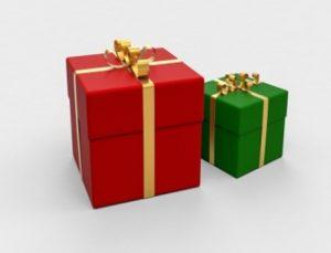 dua-kotak-hadiah-berwarna-merah-dan-hijau