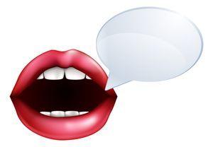 mulut berkata